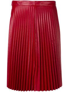 плиссированная юбка Red Valentino