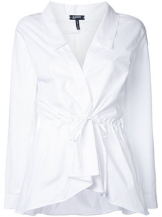 блузка с запахом Jil Sander Navy