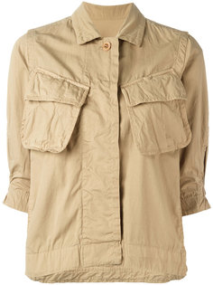 crinkled military jacket Sacai