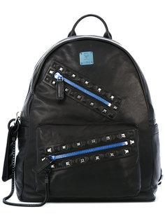 рюкзак с молниями MCM