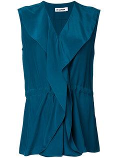 блузка с запахом Jil Sander