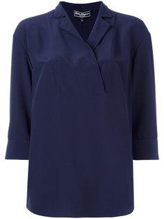 блузка с запахом Salvatore Ferragamo