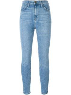 выбеленные джинсы с завышенной талией Current/Elliott