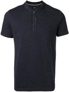 футболка-поло без воротника Boss Hugo Boss