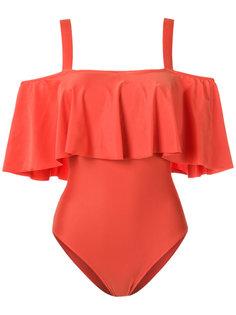 ruffled swimsuit Adriana Degreas