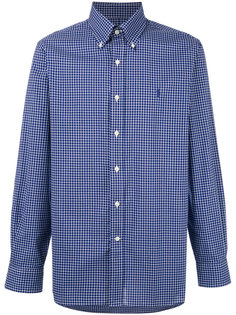 клетчатая рубашка на пуговицах Polo Ralph Lauren