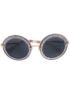Noir sunglasses Miu Miu Eyewear