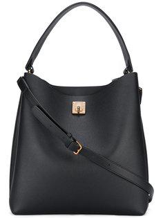 сумка на плечо с поворачивающимся замком MCM