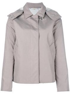куртка с застежкой на крючок Fay