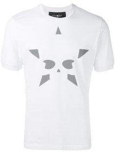 футболка с принтом-звездой Hydrogen