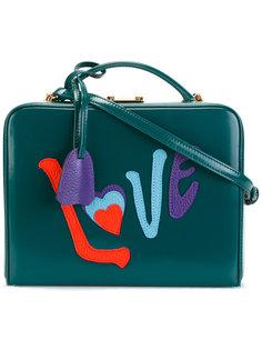 сумка на плечо с аппликацией LOVE Mark Cross