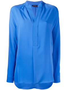 блузка с V-образным вырезом Polo Ralph Lauren