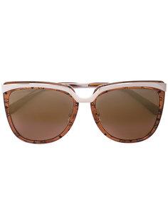 солнцезащитные очки в крупной оправе MCM