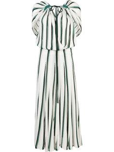 трикотажное платье с запахом Adam Lippes
