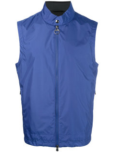 куртка на молнии без рукавов Z Zegna