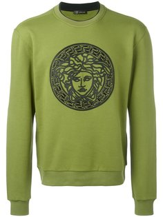 Medusa embroidered sweatshirt Versace
