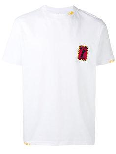 футболка с нашивкой на груди Palm Angels