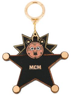 брелок в виде медведя-звезды MCM