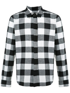 checked shirt En Noir