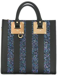 прямоугольная сумка-тоут Albion с блестками Sophie Hulme