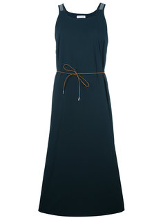 расклешенное платье с завязками на талии Fabiana Filippi