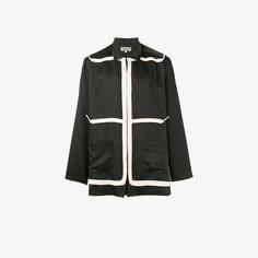 легкая куртка с контрастной отделкой Yohji Yamamoto