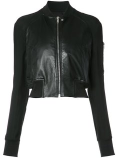 zipped crop jacket Rick Owens