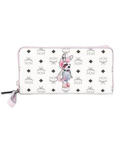 кошелек с принтом кролика-панка MCM