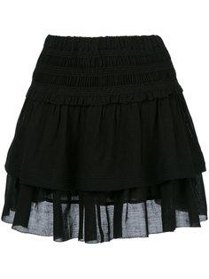 многослойная юбка с рюшами Isabel Marant Étoile