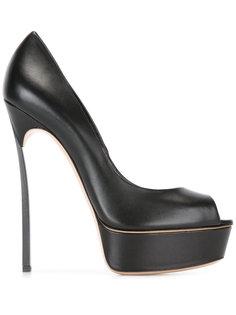 туфли с открытым носом Casadei