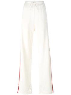 спортивные брюки с полосками по бокам Mm6 Maison Margiela