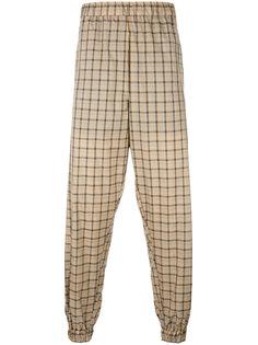 легкие спортивные брюки в клетку Astrid Andersen