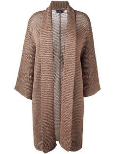 удлиненное трикотажное пальто Polo Ralph Lauren