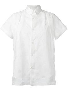 рубашка со складками Comme Des Garçons Noir Kei Ninomiya