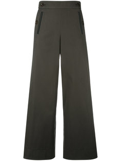 pleated insert trousers Sacai