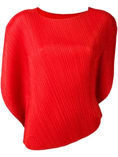 пдиссированная блузка Pleats Please By Issey Miyake
