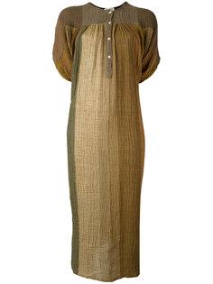 платье-туника с эффектом градиента Masscob