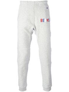 спортивные штаны с принтом Beams Champion