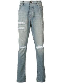 Clash Wash skinny jeans En Noir