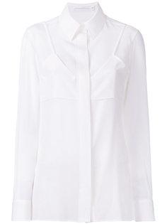 двухслойная рубашка Victoria Beckham