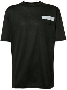 футболка с накладным карманом Lanvin