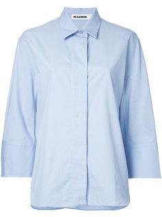 рубашка с укороченными рукавами Jil Sander