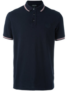 футболка-поло с вышивкой логотипа Emporio Armani