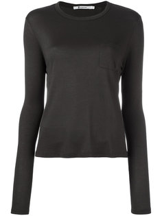 round neck T-shirt T By Alexander Wang