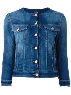 джинсовая куртка с круглым вырезом Jacob Cohen