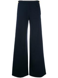 buttoned laterals palazzo trousers Alberta Ferretti