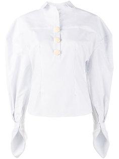 stripe puff sleeve shirt  Jacquemus