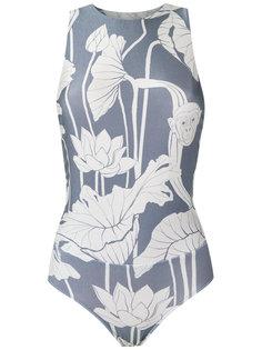 printed bodysuit Adriana Degreas