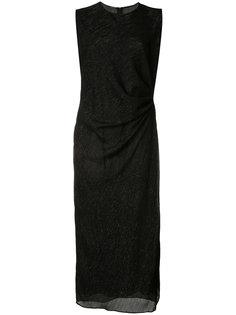 облегающее платье с присборенной деталью Adam Lippes