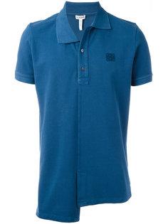 рубашка-поло с асимметричным подолом Loewe